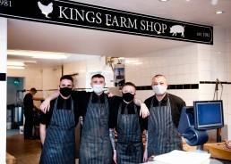Kings Farm butchers headshots photographed by Sarah Greer Photography